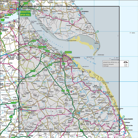 113 Grimsby Louth & Market Rasen - Anquet Maps