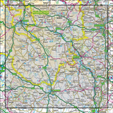 119 Matlock Chesterfield, Bakewell & Dove Dale - Anquet Maps