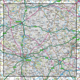 149 Hereford & Leominster Bromyard & Ledbury - Anquet Maps
