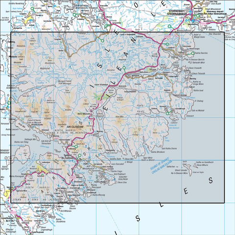 14 Tarbert & Loch Seaforth - Anquet Maps