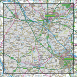 152 Northampton & Milton Keynes Buckingham & Daventry - Anquet Maps