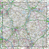 153 Bedford & Huntingdon St Neots & Biggleswade - Anquet Maps