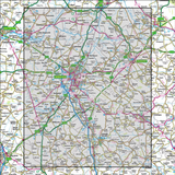 154 Cambridge & Newmarket Saffron Walden - Anquet Maps