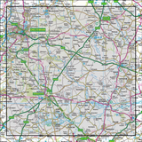 163 Cheltenham & Cirencester Stow-on-the-Wold - Anquet Maps
