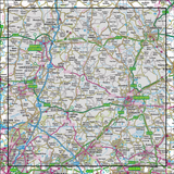 167 Chelmsford Harlow & Bishop's Stortford - Anquet Maps