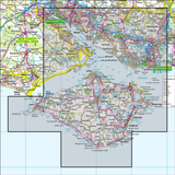 203 Land's End & Isles of Scilly St Ives & Lizard Point - Anquet Maps