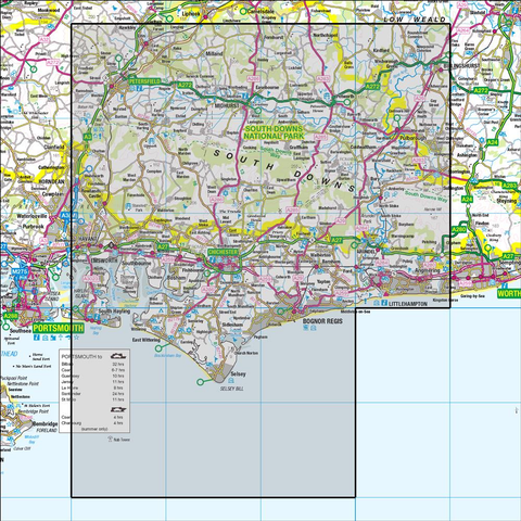 204 Truro & Falmouth Roseland Peninsula - Anquet Maps