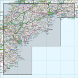 202 Torbay & South Dartmoor Totnes & Salcombe - Anquet Maps