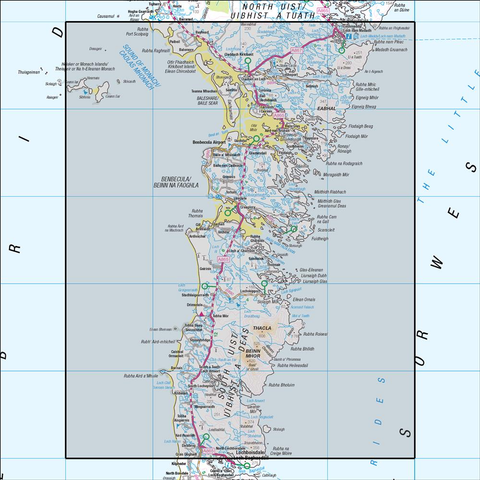 22 Benbecula & South Uist - Anquet Maps