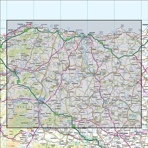 29 Banff & Huntly Portsoy & Turriff - Anquet Maps
