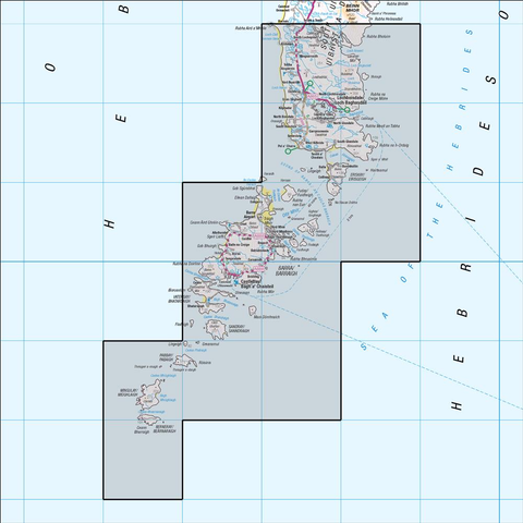31 Barra & South Uist Vatersay & Eriskay - Anquet Maps
