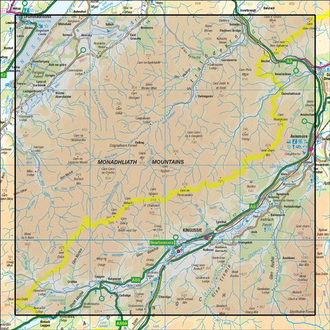 35 Kingussie & Monadhliath Mountains - anquet.myshopify.com