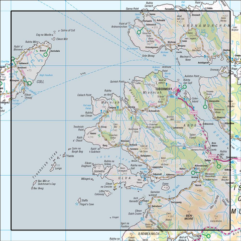 47 Tobermory & North Mull - Anquet Maps