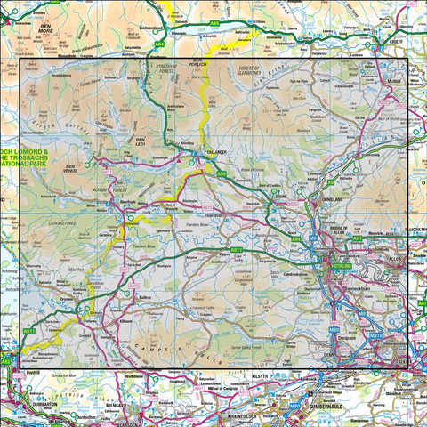 57 Stirling & The Trossachs - Anquet Maps