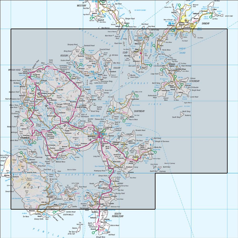 6 Orkney Mainland - Anquet Maps
