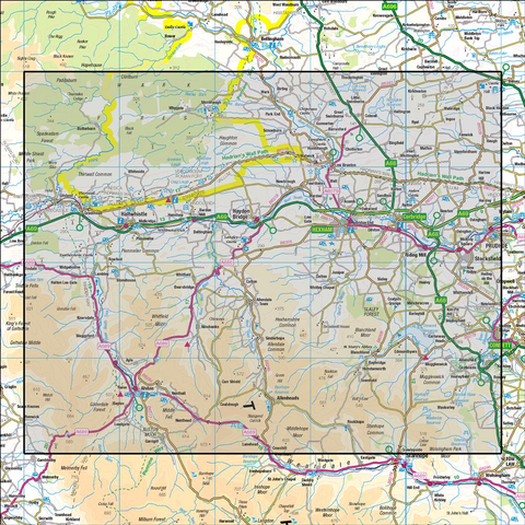 87 Hexham & Haltwhistle - Anquet Maps