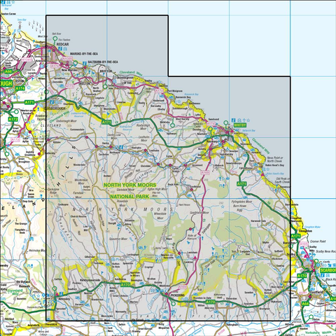 94 Whitby & Esk Dale Robin Hood's Bay - Anquet Maps
