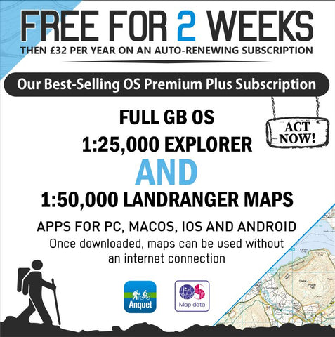 Free 2 Week Trial Offer - Anquet Maps