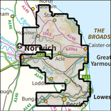 Broads National Park - Anquet Maps