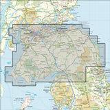 Scottish Lowlands and Borders OS 50k Landranger
