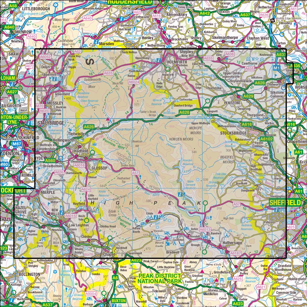 OS 1:25,000 Maps – Anquet Maps on
