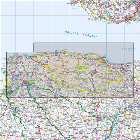 OL9 Exmoor Historical Mapping - Anquet Maps