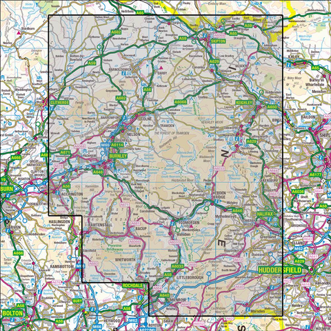 OL21 South Pennines - Anquet Maps