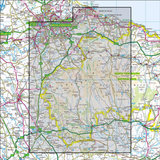 OL26 North York Moors - Western area Historical Mapping - Anquet Maps