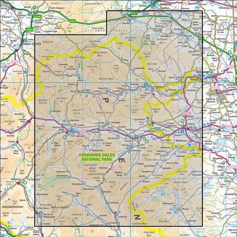 OL30 Yorkshire Dales - Northern & Central Areas - Anquet Maps