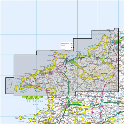 OL35 North Pembrokeshire - Anquet Maps