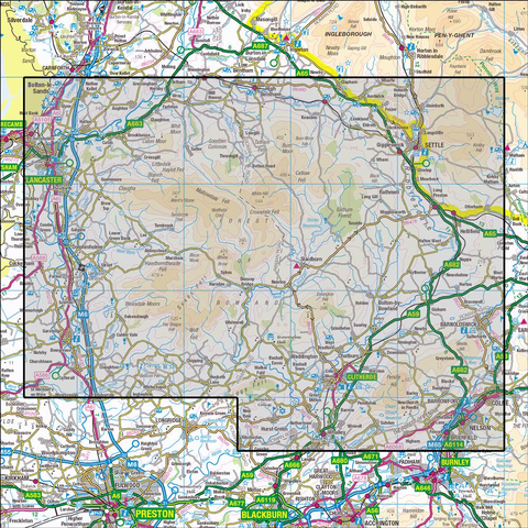 OL41 Forest of Bowland & Ribblesdale - OSVMLC