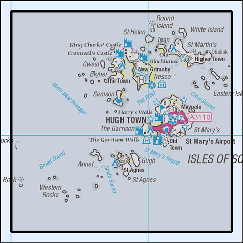 101 Isles of Scilly - Anquet Maps