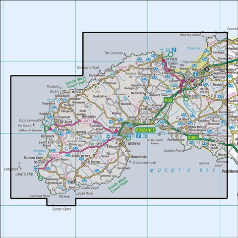 102 Lands End - Anquet Maps