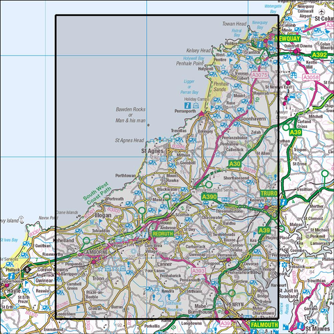 104 Redruth & St Agnes - Anquet Maps