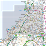 111 Bude, Boscastle & Tintagel - Anquet Maps