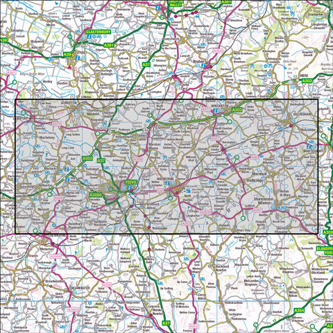 129 Yeovil & Sherborne - OSVMLC - Anquet Maps