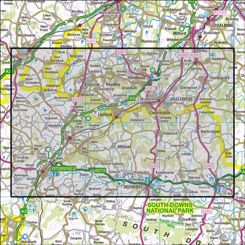 133 Haslemere & Petersfield - OSVMLC - Anquet Maps