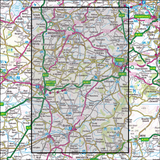 142 Shepton Mallet & Mendip Hills East Historical Mapping - Anquet Maps