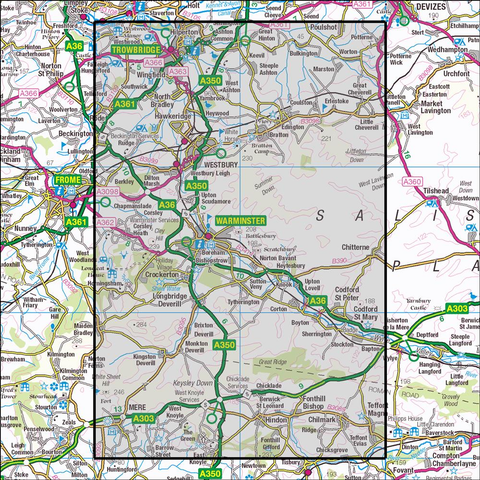 143 Warminster & Trowbridge Historical Mapping - Anquet Maps