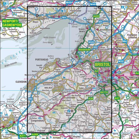 154 Bristol West & Portishead - Anquet Maps
