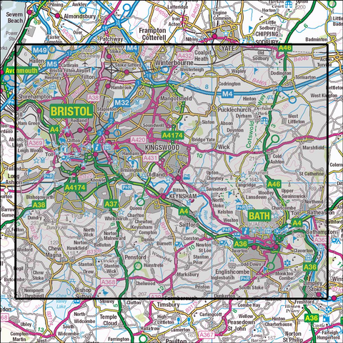 155 Bristol & Bath Historical Mapping - Anquet Maps