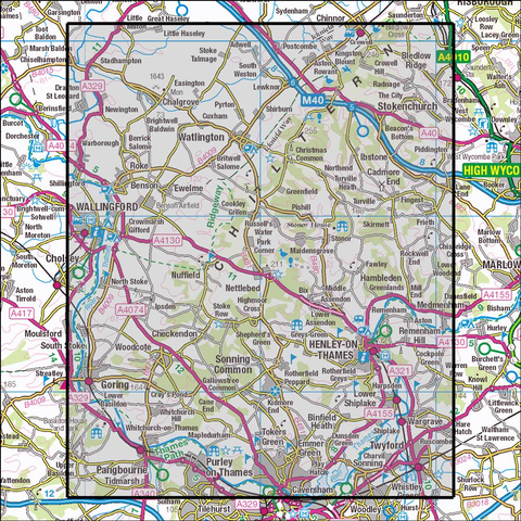 171 Chiltern Hills West - OSVMLC - Anquet Maps