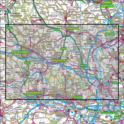 172 Chiltern Hills East - Anquet Maps