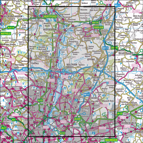 174 Epping Forest & Lee Valley Historical Mapping - Anquet Maps
