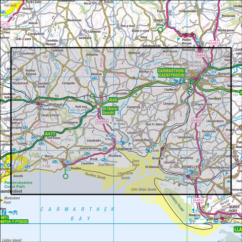 177 Carmarthen & Kidwelly - OSVMLC - Anquet Maps