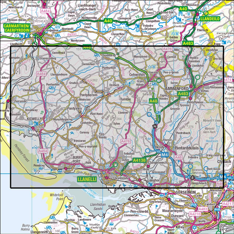 178 Llanelli & Ammanford Historical Mapping - Anquet Maps