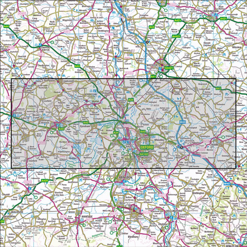 180 Oxford Historical Mapping - Anquet Maps