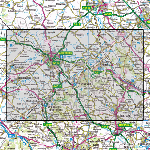 181 Chiltern Hills North Historical Mapping - Anquet Maps