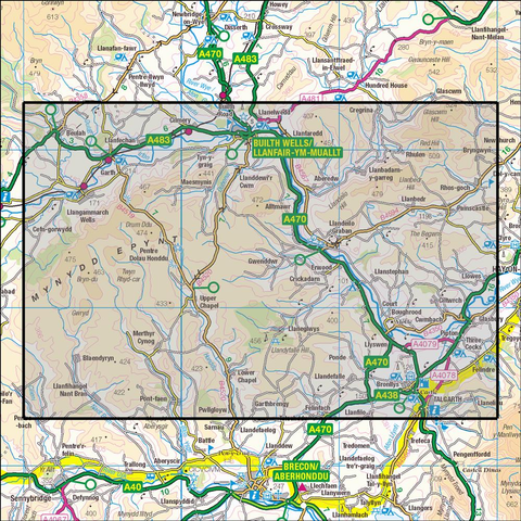 188 Builth Wells  Historical Mapping - Anquet Maps