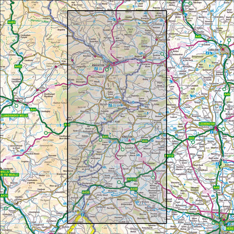 201 Knighton & Presteigne  Historical Mapping - Anquet Maps